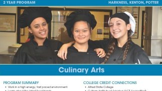 Culinary Arts Flyer