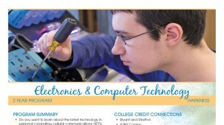 Electronics and Computer Technology Flyer
