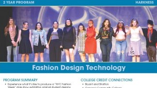 Fashion Design Technology Flyer