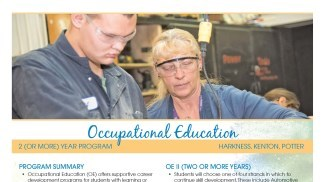 Occupational Education Flyer