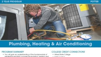 Plumbing, Heating and Air Conditioning Flyer