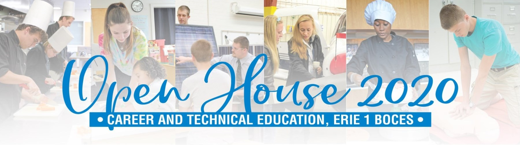 Open House 2020 Career and Technical Education, Erie 1 BOCES